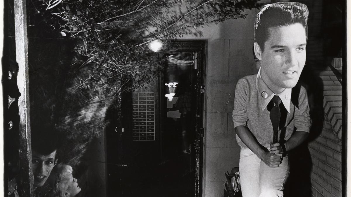 Tseng Kwong Chi, Elvis Night, Club 57 in NYC, 1980 by Harvey Wang