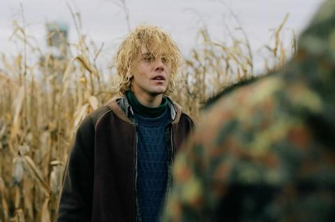 Xavier Dolan as the title character in *Tom at the Farm (Tom à la ferme)*