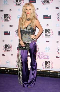 Kesha at the 2010 VMAs - credit: Perez Hilton